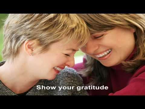Live a life of gratitude
