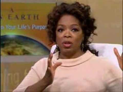 Oprah & Eckhart God is not about a belief