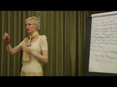 Mohini's HOW TO MANIFEST YOUR DESIRES Seminar: Intro & Key Manifesting Principles (Part 1)