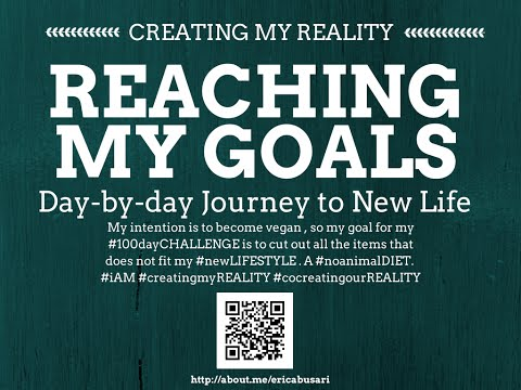 Creating my Reality by Reaching my GOALS in LIFE 100day Challenge DAY 089