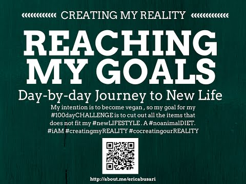 Creating my Reality by Reaching my GOALS in LIFE 100day Challenge DAY 079