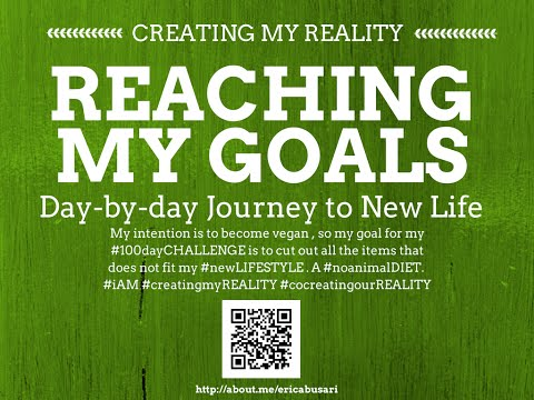 Creating my Reality by Reaching my GOALS in LIFE 100day Challenge DAY 069
