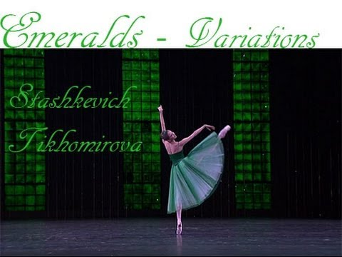 Balanchine - Emeralds (Stashkevich, Tikhomirova)