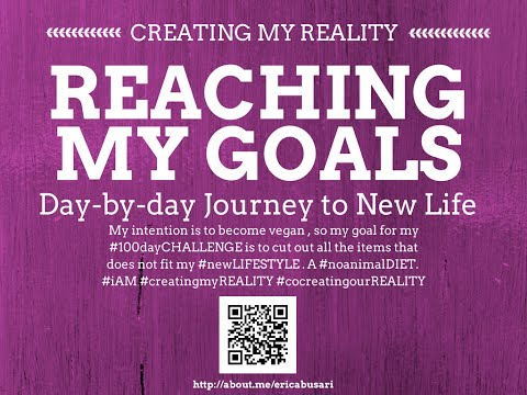 Creating my Reality by Reaching my GOALS in LIFE 100day Challenge DAY 100(Intro)