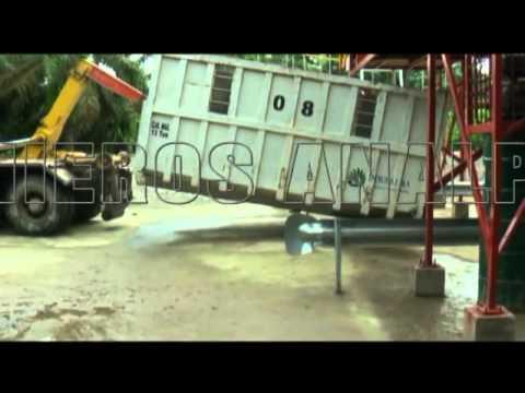 Cable Vía para palma africana. Ingenieros Analpes Ltda. Bogota D.C. Colombia