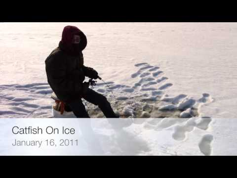 Wade's Blades - Ice Fishing For Catfish
