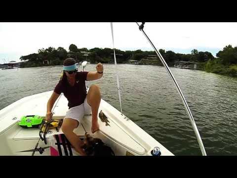 Big Bluegill Fishing in Texas (Lake Travis)