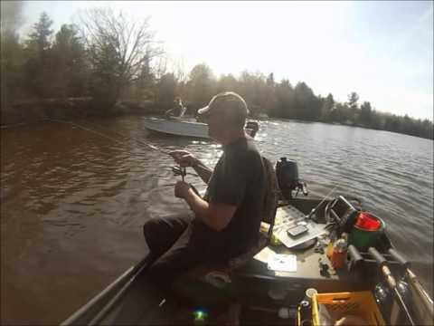 Fishing Crappie at a 2 fish/ minute pace
