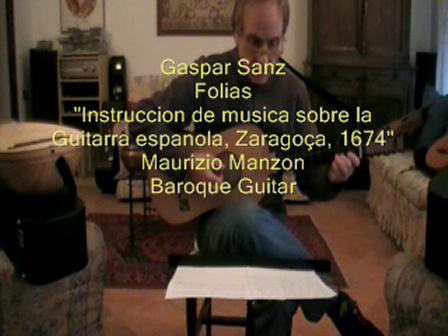 Folias Gaspar Sanz