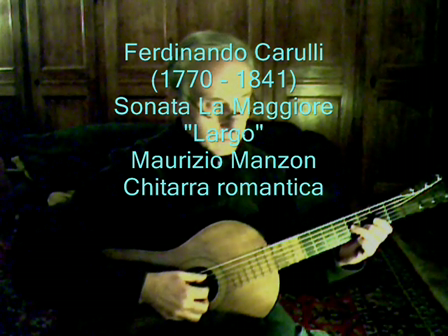 "Carulli Largo From ""Sonata A Major"""