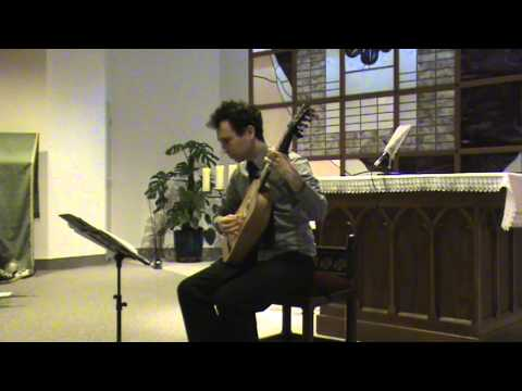 Robert de Visée - Gigue for baroque guitar