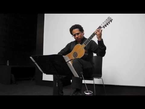 Krishnasol Jimenez plays De Visèe on the Sabionari Stradivari guitar (1679)