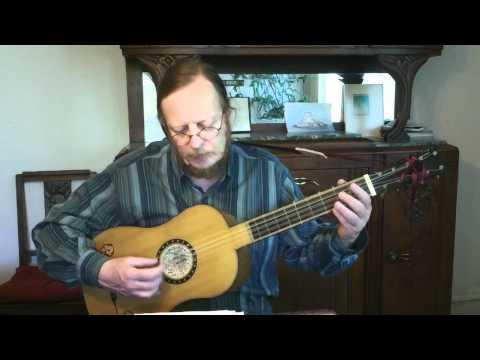 Johann-Sebastian Bach - Bourée Bwv 1006 - Baroque Guitar