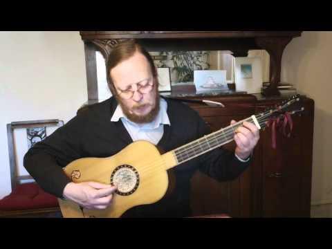 Johann Sebastian Bach - Menuet II - Bwv 1006 Baroque Guitar