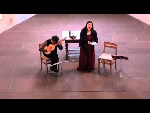 Arianna Savall and Michal Gondko perform Narváez and Milán