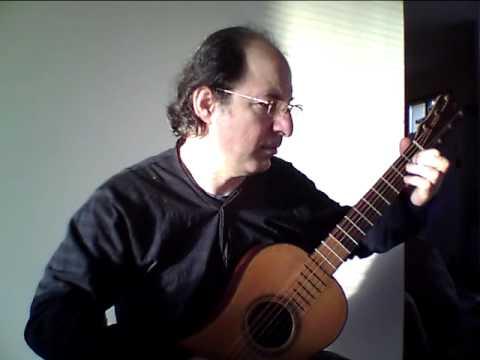 Fernando Sor ,étude 5 opus 60 ,Luc Aboulkheir guitare.