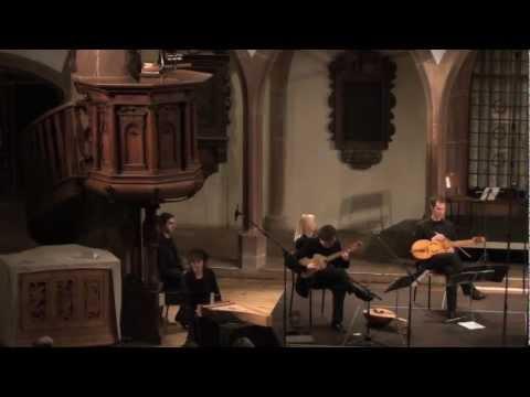 CORINA MARTI and MICHAL GONDKO perform music from Buxheimer Orgelbuch