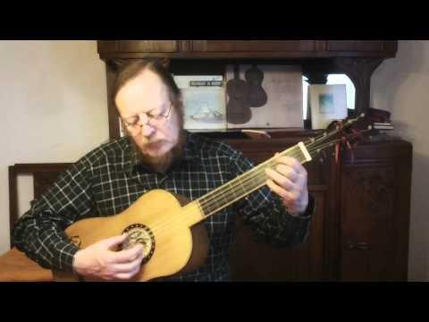 Johann-Sebastian Bach - Gavotte en rondeau - Baroque guitar