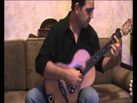 Tarrega Francisco - Study in E minor - Romantic Guitar.