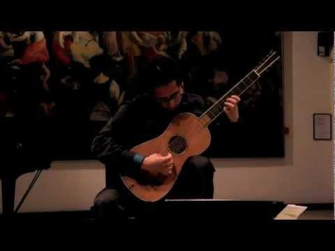 Sabionari Stradivarius guitar Concert in Cremona - De Visèe, Suite in G major (1682)
