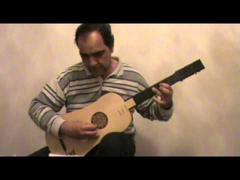 Gaspar Sanz - Folias - Baroque Guitar