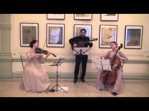 Paganini, Niccolò - Rondo  from Terzetto for Violin, Cello and Guitar