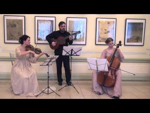"early romantic music ensemble ""Innamorati"" - Mauro Giuliani - Serenade, Op.19"