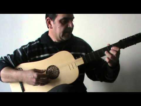 Robert De Visee - Minuet - Baroque guitar