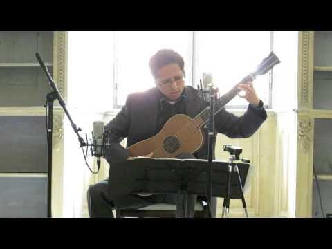 Krishnasol Jimenèz plays Corbetta with the Sabionari Stradivarius guitar