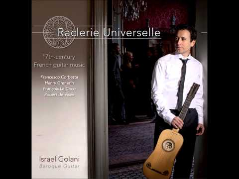 Francesco Corbetta: Courante for Baroque guitar played by Israel Golani