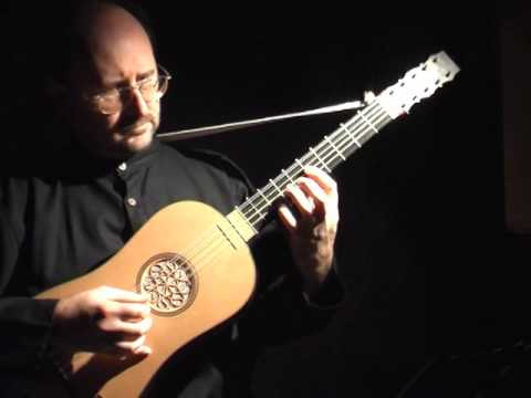 Francesco Corbetta; Sarabande & Double from La Guitarre Royalle of 1671.