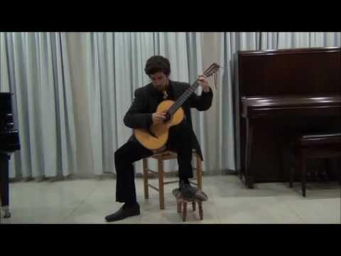 Fernando Sor - 3 Etudes for guitar