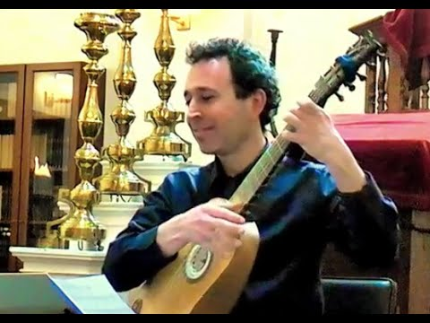 Chaconne for Baroque guitar by François Le Cocq