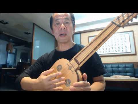 Playing Lute or Vihuela Lesson 19  Giogio Signorile:  Lasciati Avvolgere Vihuela, Ruey Yen