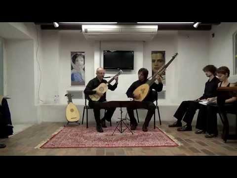 Gaspar Sanz: Españoletas (Guitarra e Tiorba)
