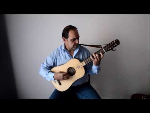 Narvaez-La Canción del Emperador- Test my new Vihuela- made by Petros Zaranis