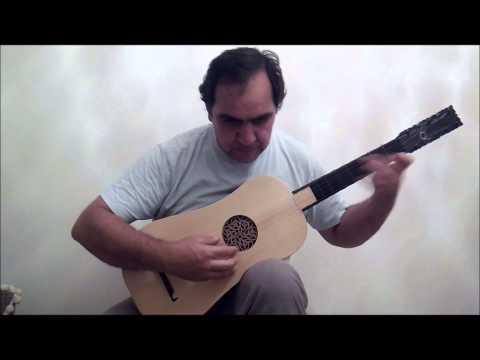 Santiago de Murcia - Paspied Viejo - Baroque Guitar