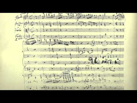 Mário Carreira | F. Schubert: Quartet for Flute, Viola, Guitar and Cello (D.96) - Zingara