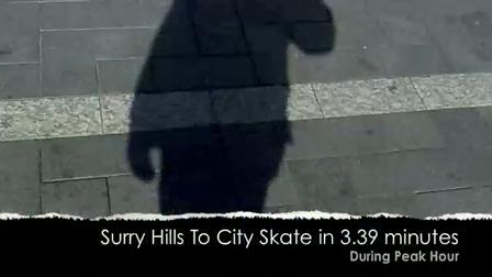 Peak Hour City Skate May 2009