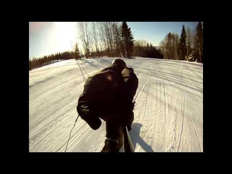 Rookie's snowskates clip 2