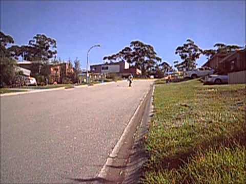 Longboarding: Merimbula NSW