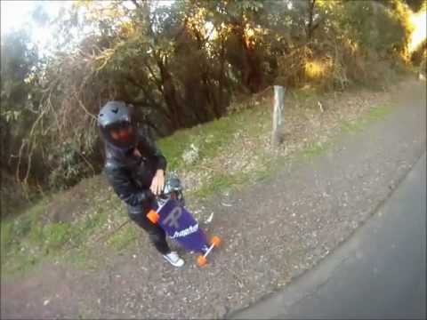 South Coast downhill with Alex and Panyas'