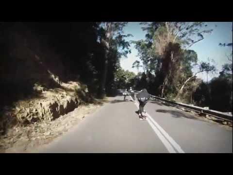 South Coast Downhill Skate Trip