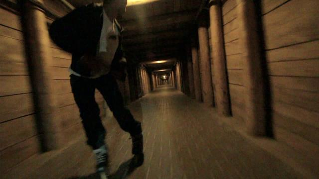 Greg Mirzoyan - Bombing down the salt mine in Poland.