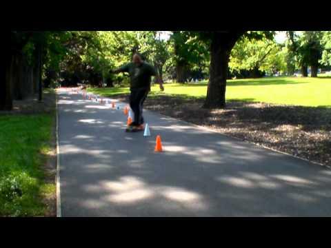 Fawkner park slalom practice ASRA