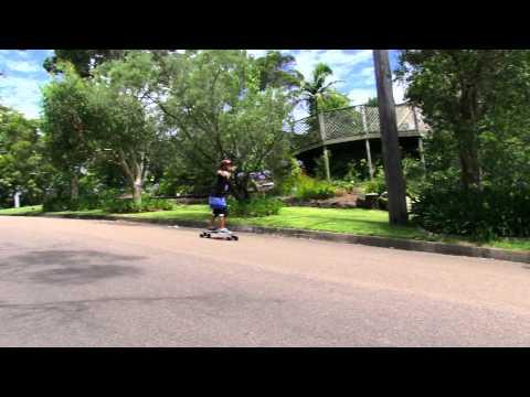 Longboarding Ben Lorschy- 12 Years Old
