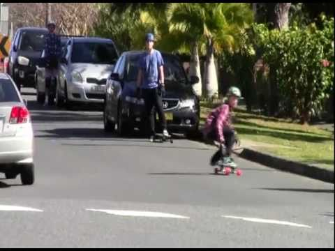 Longboarding: At St Leonards (Pt 2)