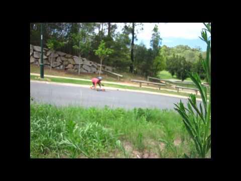 Longboarding: Walking up the hill