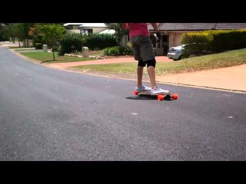 Longboarding: Taking Out The Garbage