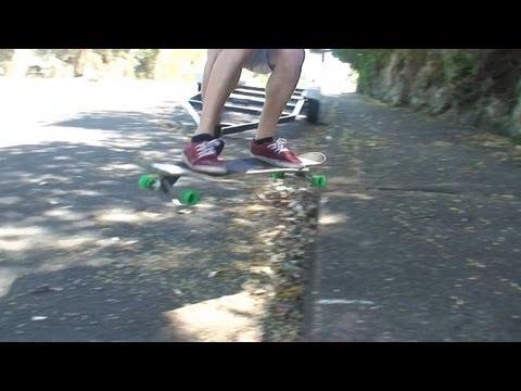 Longboarding at the break of Vaughan